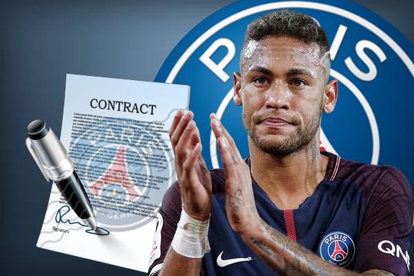 النادي الفرنسي نفى أن يكون هناك أي شرط جزائي في عقد لاعبه نيمار