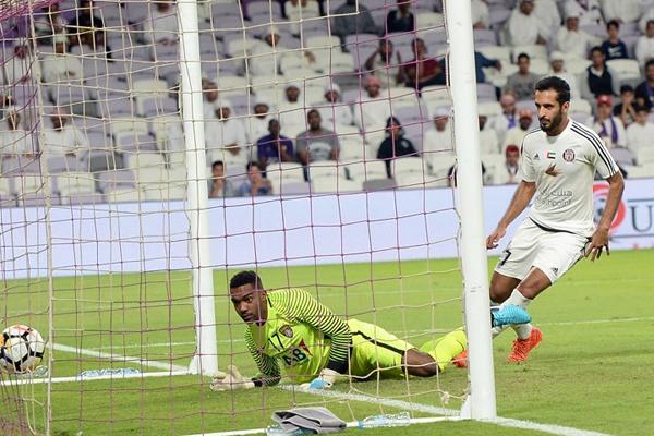 حرم علي مبخوت فريق العين من ثلاث نقاط ثمينة كانت في متناوله