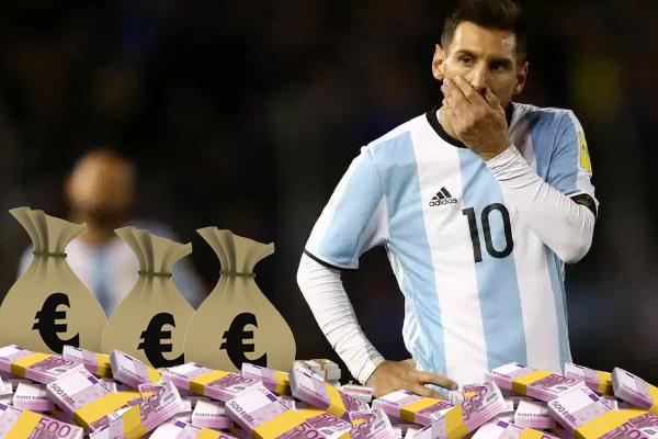 ألیخاندرو بورزاكو رجل الأعمال ومالك شركة ریاضیة في الأرجنتین اعترف بدفع مبالغ مالیة للاعبین كبار من بینھم لیونیل میسى