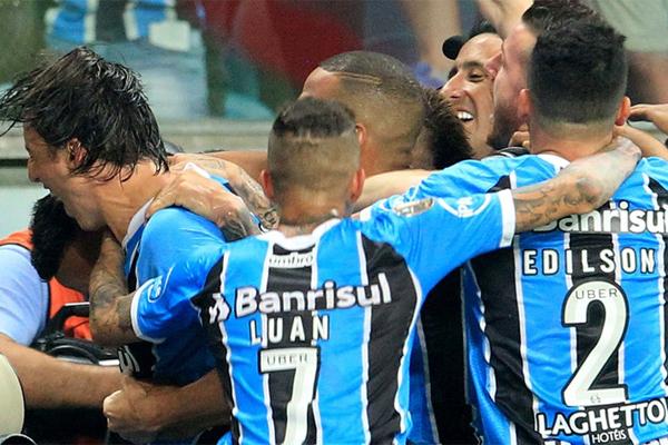 سجل البديل سيسيرو هدفا متأخرا منح غريميو البرازيلي فوزا على ضيفه لانوس الارجنتيني