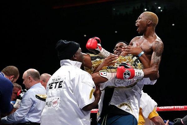 الجنوب أفريقي تيتي بطلا للعالم في خمس ثوان