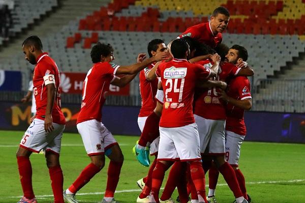 الاهلي الى المركز الثالث بفوزه على المصري 2-صفر