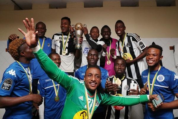 مازيمبي يحتفظ بلقب كأس الاتحاد الأفريقي