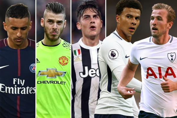 ريال مدريد يرصد قائمة مكونة من خمسة لاعبين يرغب في التعاقد معهم خلال الميركاتو الصيفي المقبل
