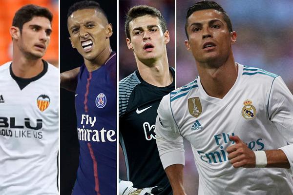 اقترح  اللاعب الدولي البرتغالي كريستاينو رونالدو 3 أسماء على إدارة ريال مدريد بهدف التعاقد معها في فترة الانتقالات الشتوية القادمة