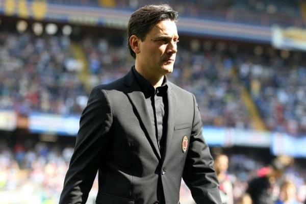 فينتشينزو مونتيلا، المدرب السابق لنادي ميلان الإيطالي