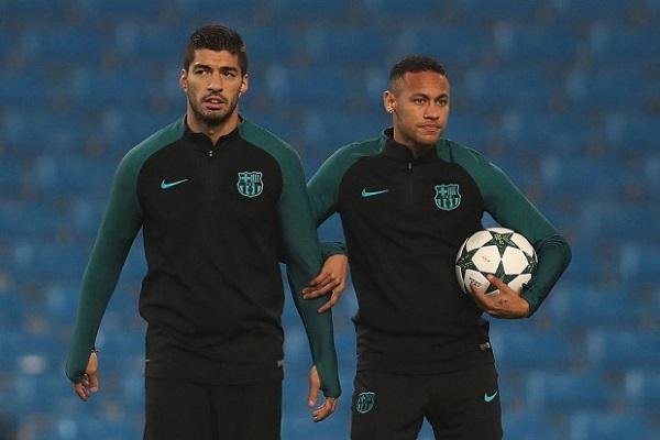 سواريز يستبعد أن يلعب صديقه نيمار، في المستقبل مع ريال مدريد