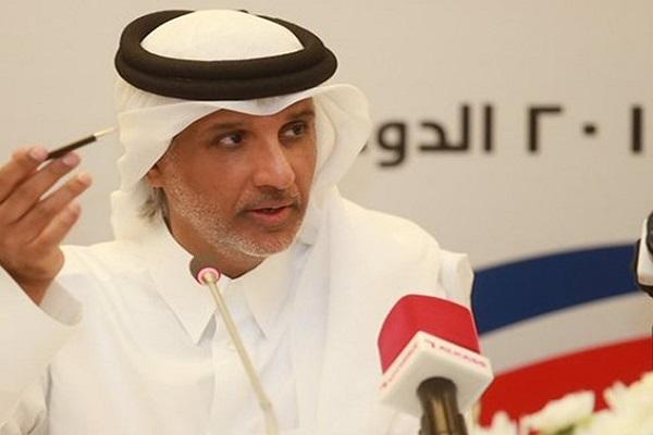 الشيخ حمد بن خليفة بن احمد ال ثاني رئيس الاتحادين القطري والخليجي لكرة القدم