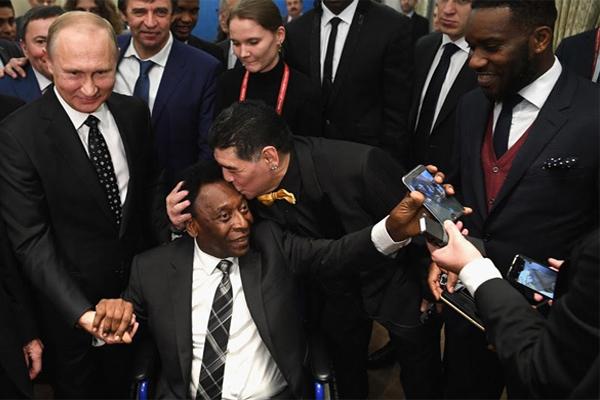 من أجواء قرعة كأس العالم بموسكو