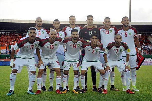 أشرق حكيمي رفقة المنتخب المغربي
