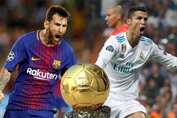 سيكون البرتغالي كريستيانو رونالدو مهاجم ريال مدريد مرشحا للحصول على جائزة الكرة الذهبية للمرة الخامسة في مسيرته
