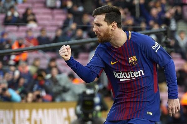 ميسي يتربع على صدارة هدافي الدوري الإسباني