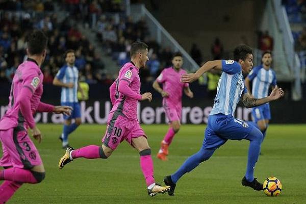 ملقة يواصل معاناته في الدوري الإسباني