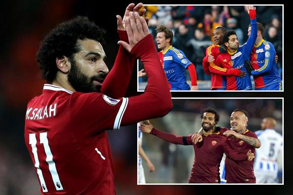 محمد صلاح بات على بعد هدف واحد فقط من معادلة الرقم الذي حققه مع نادي بازل السويسري