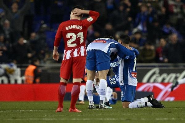 خسارة اولى لأتلتيكو مدريد