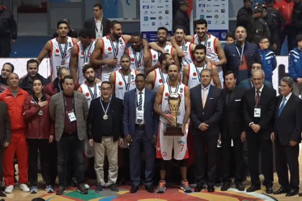 من أجواء تتويج جمعية سلا المغربي بلقب كأس أفريقيا للأندية البطلة في كرة السلة