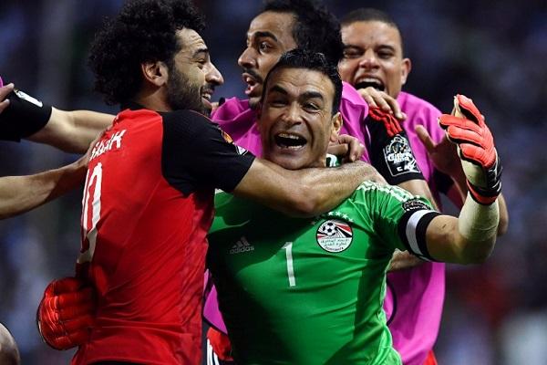 مصر الى النهائي بيمين الحضري