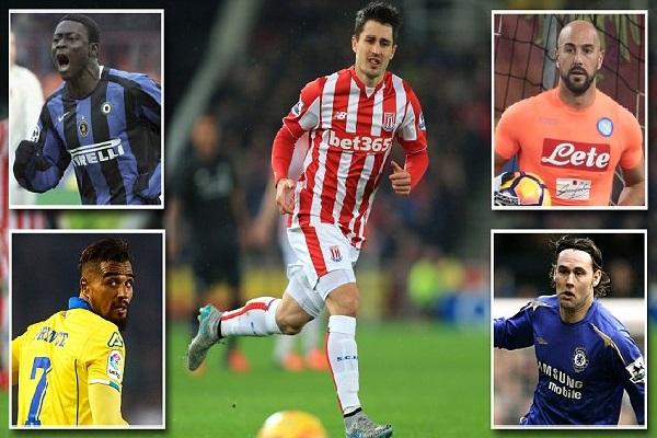 كركيتش تاسع لاعب يلعب في الدوريات الأوروبية الأربعة الكبرى في كل من إنكلترا وألمانيا وإيطاليا وإسبانيا