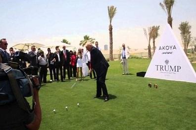 مجموعة ترامب تفتتح نادياً فخماً للغولف في دبي