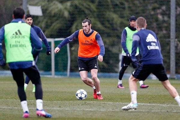 غاريث بيل يعاود التدريب مع ريال مدريد