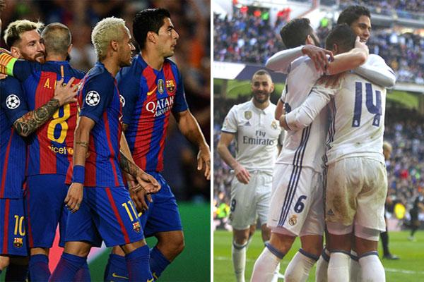 إمكانية إجراء كلاسيكو ودي بين الغريمين، ناديي برشلونة وريال مدريد الإسبانيين، الصيف المقبل