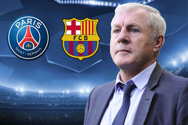 المدرب الفرنسي لويس فيرنانديز يتوقع تأهل برشلونة على حساب باريس سان جرمان