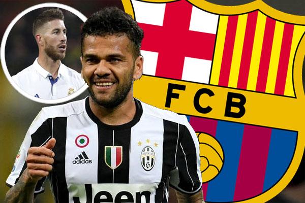 انتقد داني ألفيش طريقة تعامل ناديه السابق برشلونة الإسباني