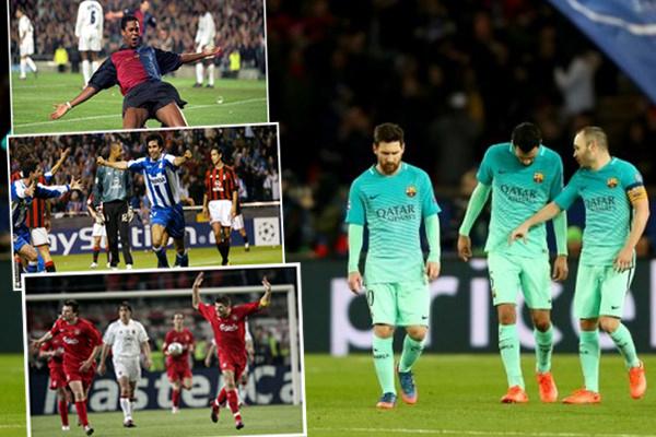 برشلونة يتسلح بسيناريوهات سابقة شهدتها نفس المسابقة في أدوار مختلفة