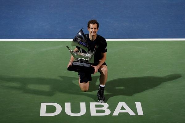 موراي يهزم فرداسكو ويحرز لقب دورة دبي