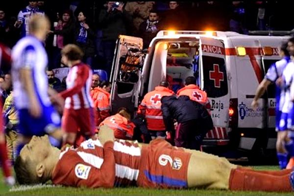 بيان النادي أكد أن توريس سيمضي ليلته في المستشفى تحت الرقابة