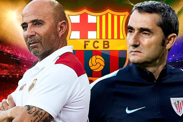 أكد المدربان الإسباني فالفيردي والتشيلي سامباولي عدم اهتمامهما في الوقت الحالي بشغل الإدارة الفنية بنادي برشلونة