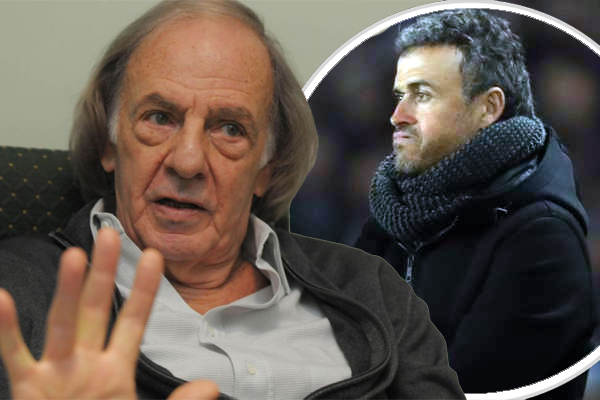 سيزار لويس مينوتي يتفهم قرار لويس إنريكي بالرحيل عن برشلونة