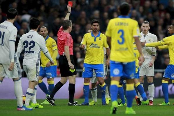 وشجار وشتائم بين اللاعبين عقب مواجهة ريال مدريد ولاس بالماس