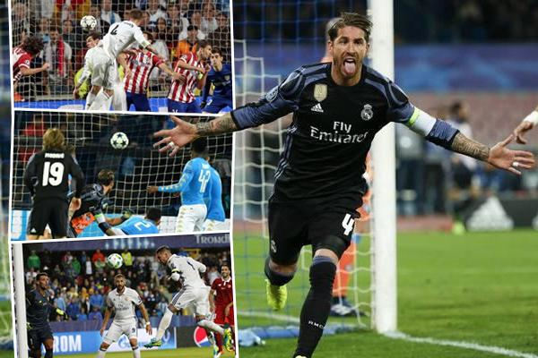 راموس ومنذ نهائي لشبونة نجح في إنقاذ ريال مدريد خلال 17 مناسبة بأهداف منحت لفريقه إما تعادلاً أو إنتصارًا