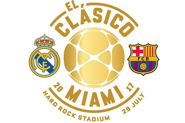 مدينة ميامي الأمريكية ستحتضن مباراة ودية تجمع بين برشلونة وريال مدريد الصيف المقبل