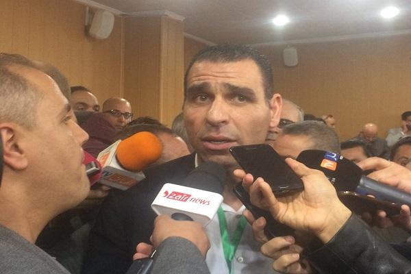 الرئيس الجديد للإتحاد الجزائري لكرة القدم، خير الدين زطتشي