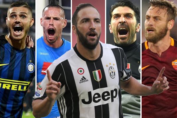 هيغوايين يتحصل على أعلى راتب في الدوري الإيطالي