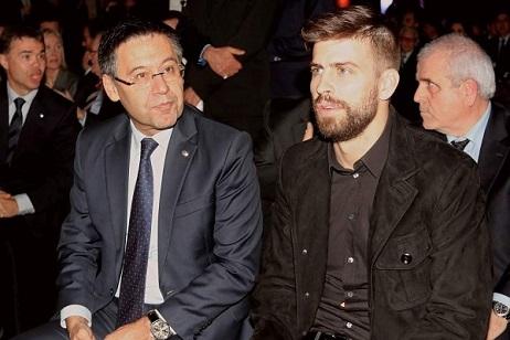 بارتوميو يكشف موقف برشلونة من تصريحات بيكيه ضد ريال مدريد