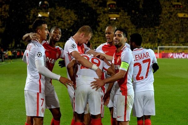 موناكو يضيف اسقاط دورتموند إلى صدمة التفجيرات