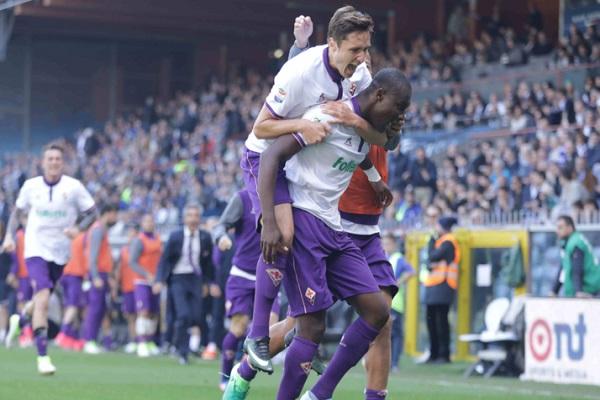 فيورنتينا يخطف التعادل من سمبدوريا في الدوري الإيطالي