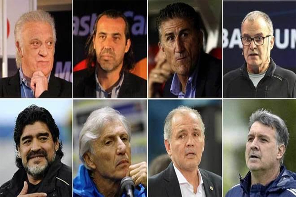 باوزا المدرب الثامن الذي يستقيل أو يُقال من منصبه كمدير فني للمنتخب الأرجنتيني منذ نهاية عام 2004