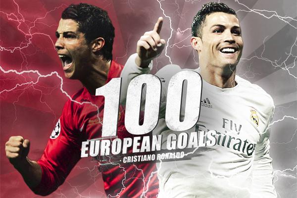 رونالدو شارك في 143 مباراة أوروبية رفقة ناديي مانشستر يونايتد الإنكليزي و ريال مدريد الإسباني