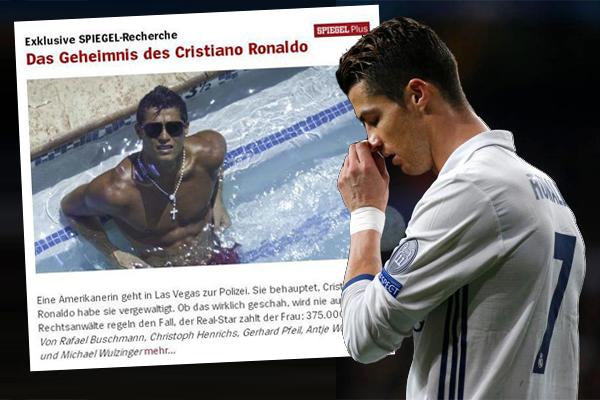 نفى البرتغالي رونالدو مهاجم ريال مدريد التقارير التي نشرتها مجلة
