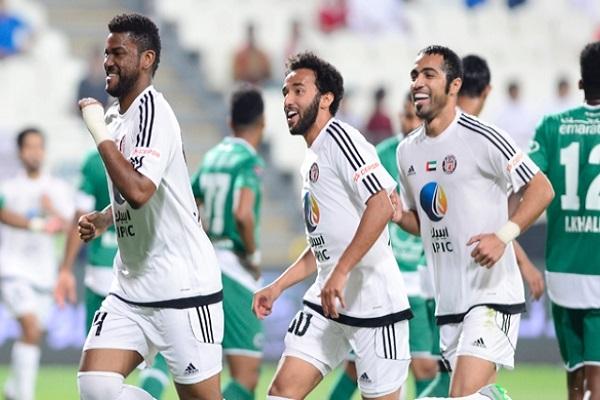 الجزيرة على بعد نقطة من لقب الدوري الإماراتي