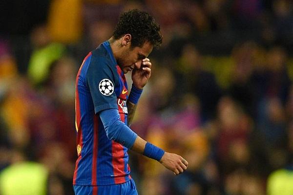 نيمار يغيب عن الكلاسيكو بعد رفض استئناف برشلونة