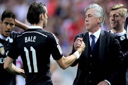 أنشيلوتي: غاريث بيل واليويفا سبب رحيلي عن ريال مدريد