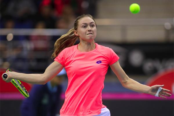 فازت البيلاروسية الياكساندرا ساسنوفيتش على السويسرية تيميا باتشينسكي