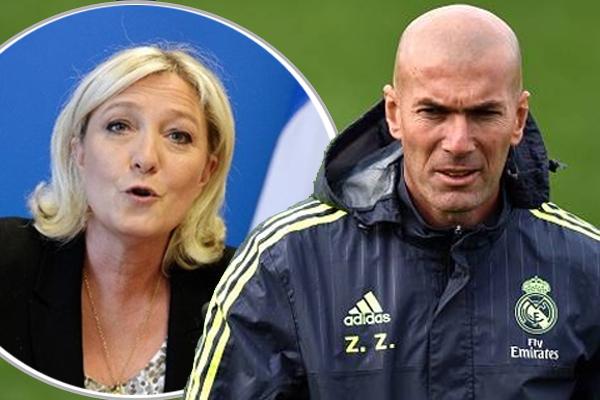 دعا مدرب ريال مدريد زين الدين زيدان الفرنسيين الى