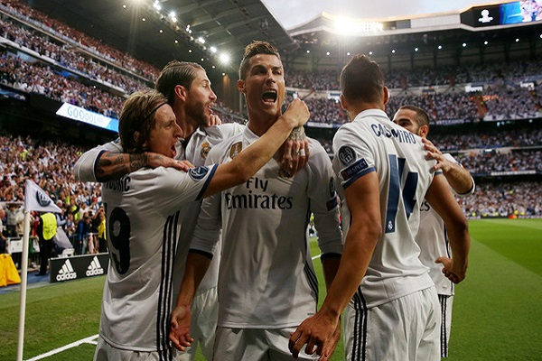 ريال مدريد يحسم الفصل الأول ديربي مدريد أمام اتلتيكومدريد