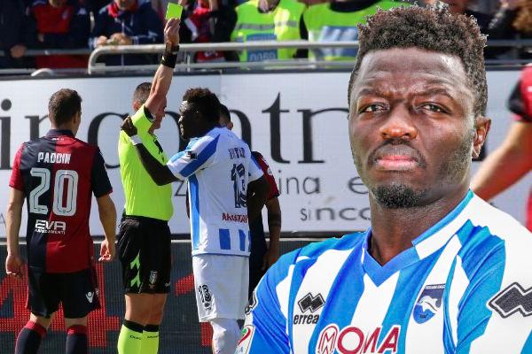 أبدى مونتاري ارتياحه بعدما ألغى الاتحاد الإيطالي لكرة القدم عقوبة إيقافه لمباراة واحدة
